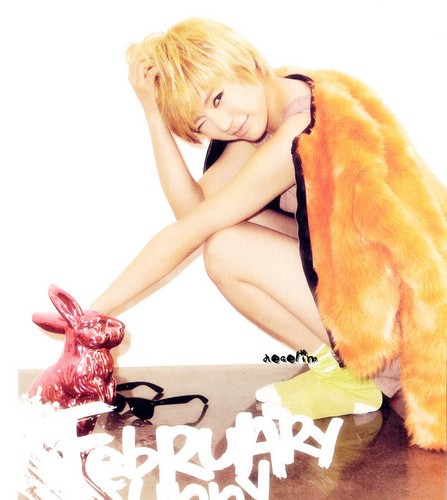 SNSD  Sunny - February 2012 Calendar - s%E2%99%A5neism Photo