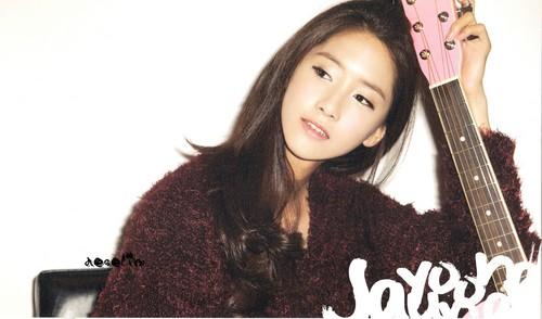 SNSD Yoona - January 2012 Calendar