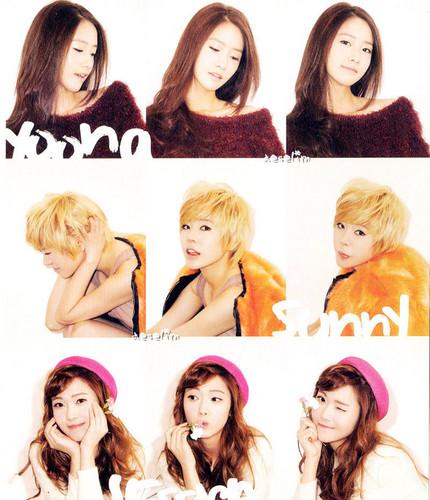 SNSD Yoona Sunny Jessica - 2012 Calendar
