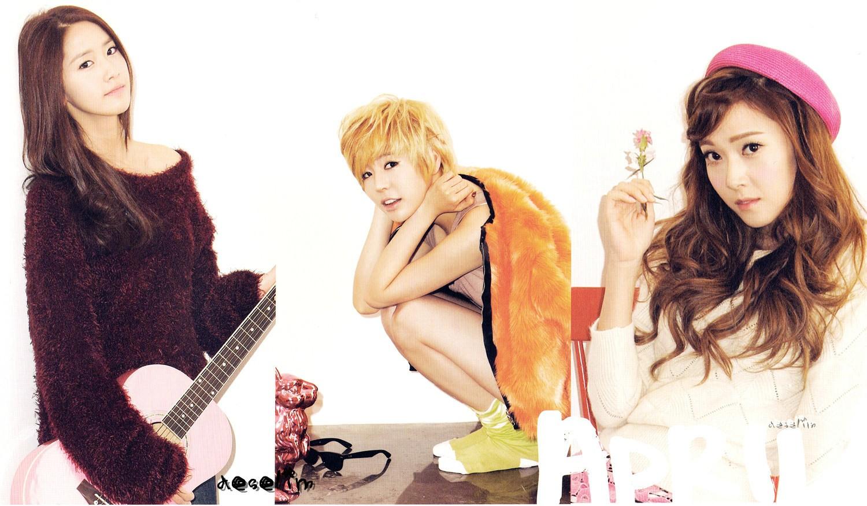 SNSD Yoona Sunny Jessica - April Calendar