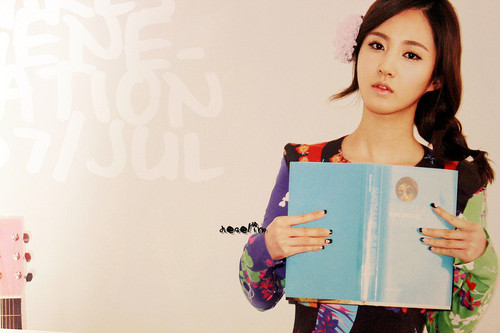 SNSD Yuri - July 2012 Calendar - s%E2%99%A5neism Photo
