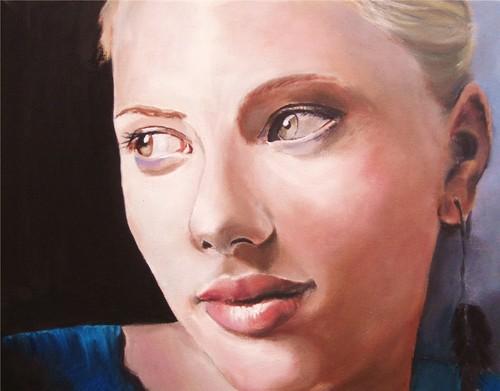 Scarlett Painting
