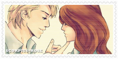 Scorpius & Rose Stamp