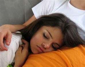 Selena Gomez sleepin