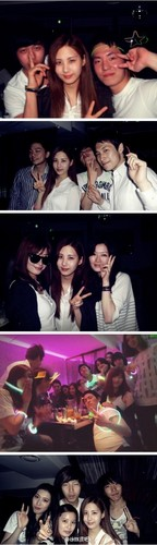 Seohyun Girls Generation fond d'écran called Seohyun with université Friends