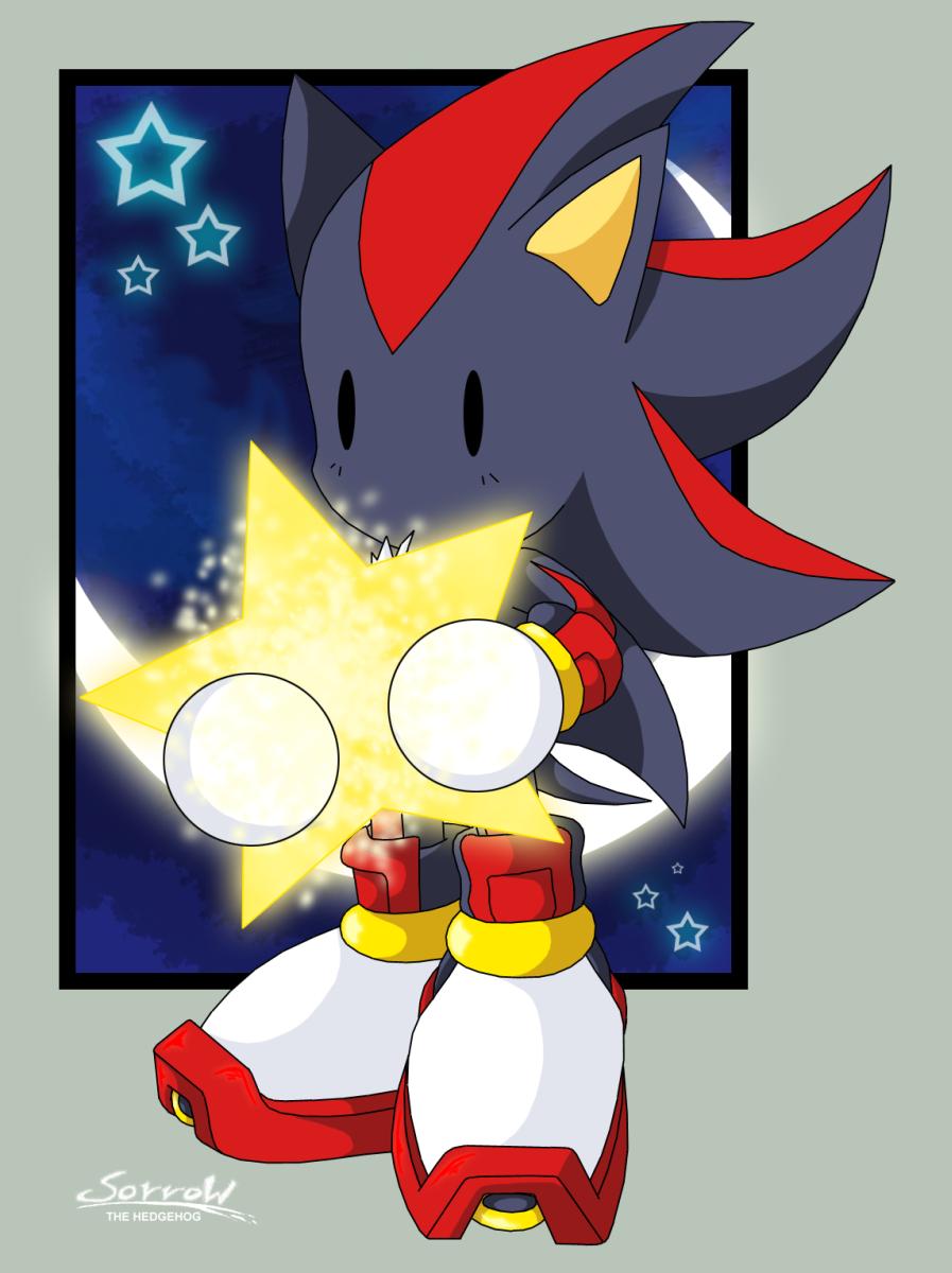 Shadow Chibi - Sonic The Hedgehog Fan Art  27998273