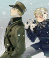 Sneak attack. - hetalia-prussia photo