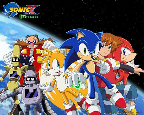 Sonic X Обои