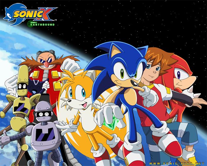 Sonic X wolpeyper