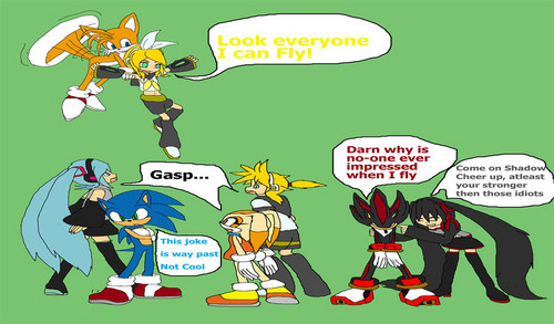 Sonic meets Vocaloid