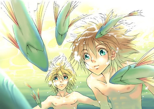 Sora and Roxas<3