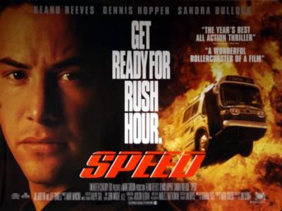 Speed Movie Poster Banner