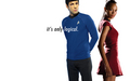 Spock & Uhura - spock-and-uhura wallpaper