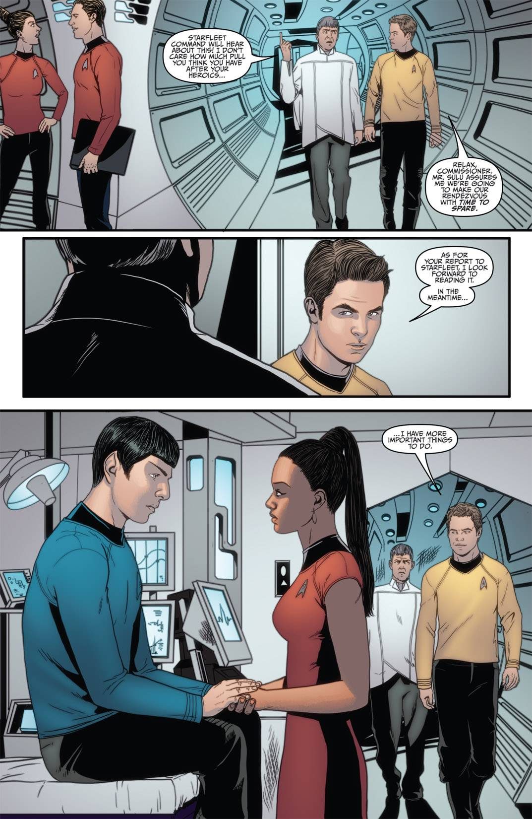 星, 星级 Trek Ongoing #4 (Spoilers)