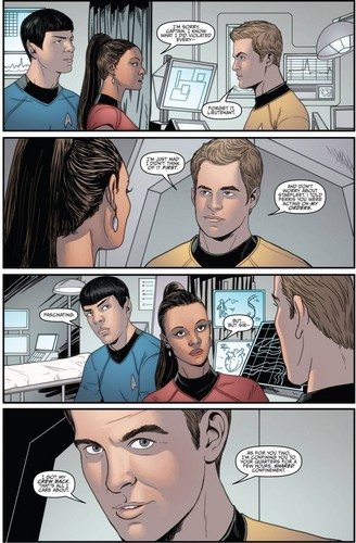 Star Trek Ongoing #4 (Spoilers) - spock-and-uhura Photo