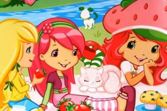 Strawberry Pics from Books