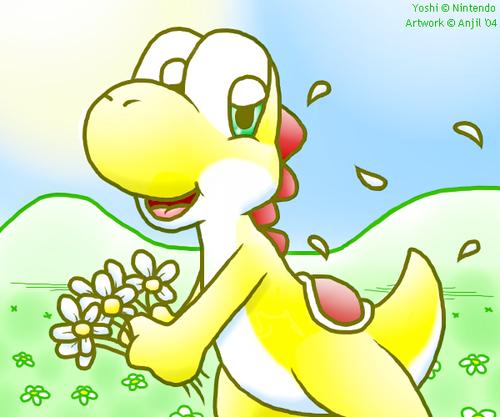 Sunshine Yoshi!