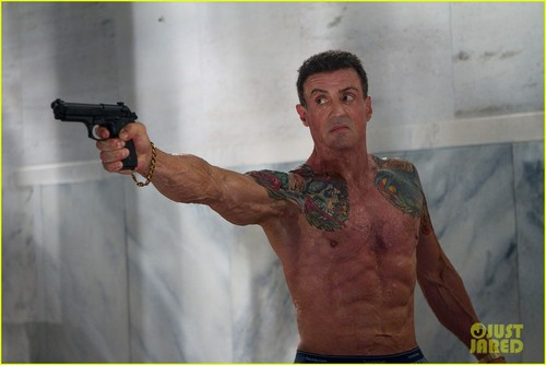 Sylvester Stallone: Shirtless for 'Bullet to the Head'!