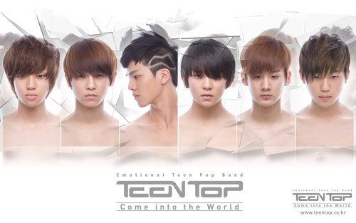 Teen top, boven come into the world