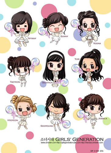 Girls Generation baciare te fan art