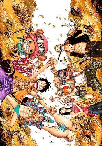 One Piece Wallpaper Entitled The Strawhats
