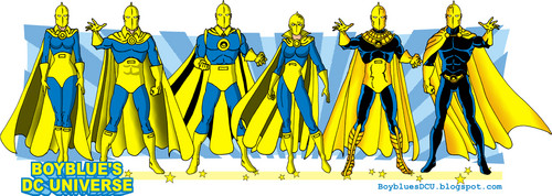 The evolution of Doctor Fate from the JSA
