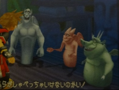 The Hunchback of Notre Dame images The gargoyles in Kingdom Hearts wallpaper and background photos
