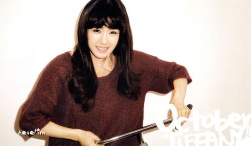 Tiffany Girls Generation - 2012 Monthly Calendar