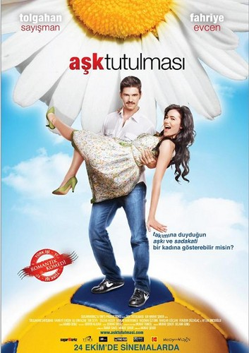 Tolgahan Sayışman and Fahriye Evcen's movie Aşk Tutulması ( An Eclipse of Love)