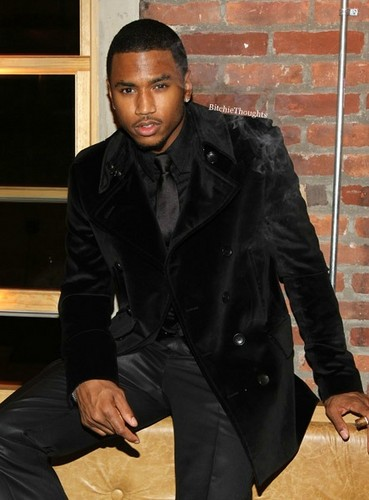 Trey Songz wallpaper with a trench coat entitled Trey Songz ♥