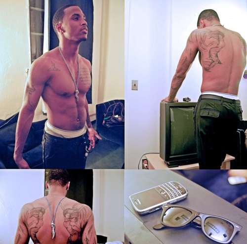Trey Songz wallpaper possibly containing a hunk and long trousers called Trey Songz ♥