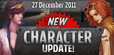 Update new character