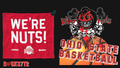 WE'RE NUTS - ohio-state-university-basketball fan art