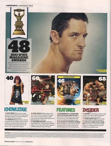ডবলুডবলুই Magazine-January 2012