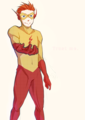 Wally - young-justice-kid-flash photo