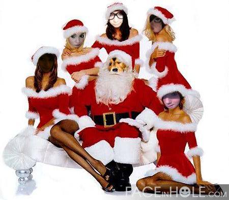 Were the Krismas babes :)