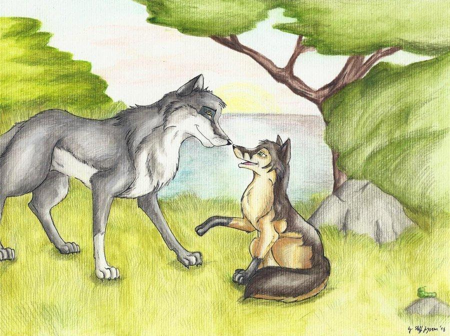 When A بھیڑیا loves A vixen ہے, وساان