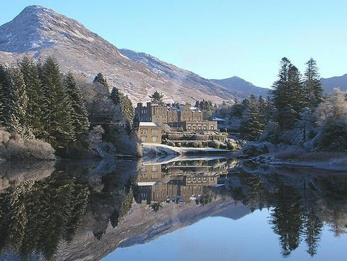 Winter in Ireland- Ballynahinch Castle - ireland Photo