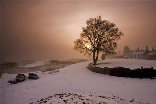 Winter in Ireland- Lough Erne