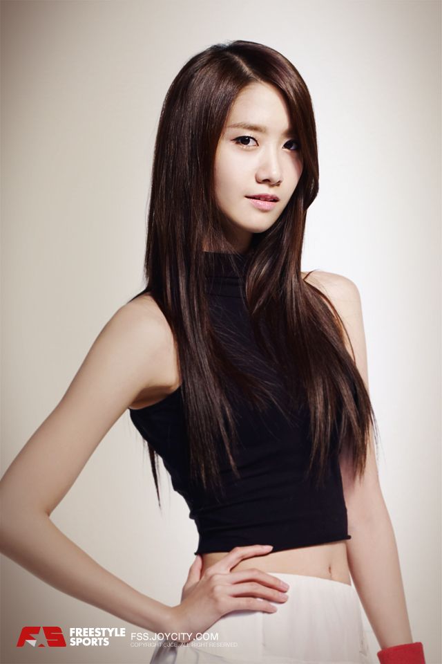 Yoona @ JCE Freestyle Online Promotion Picture