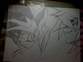 Yugi and Bakura face to face - yu-gi-oh fan art