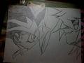 Yugi and Bakura face to face - yu-gi-oh fan art