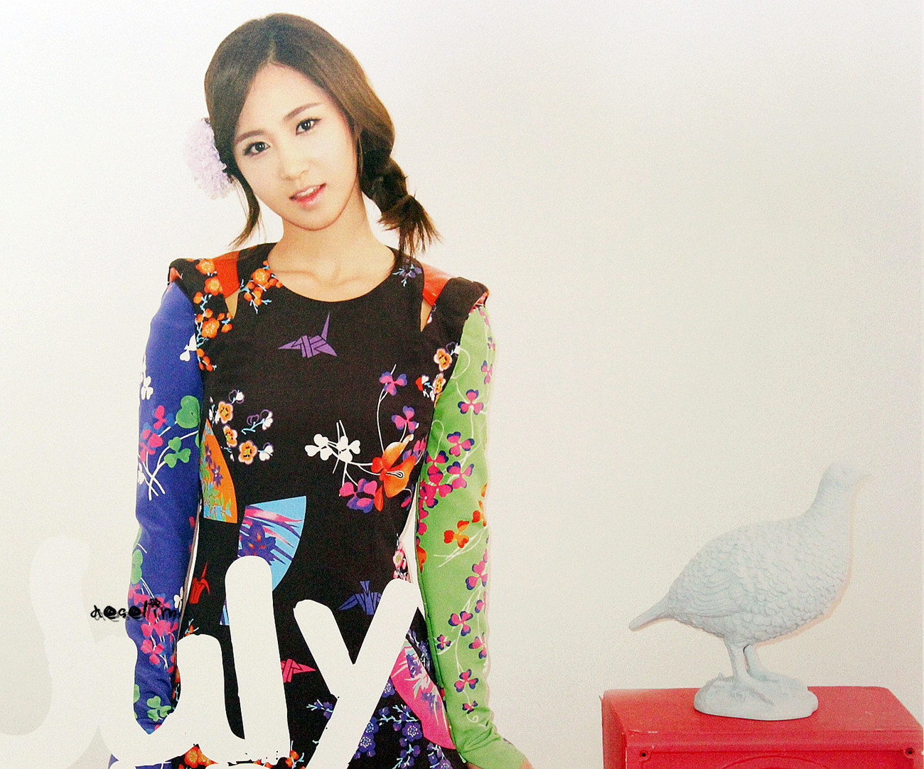 Yuri @ Girls' Generation 2012 Calendar Scans HD