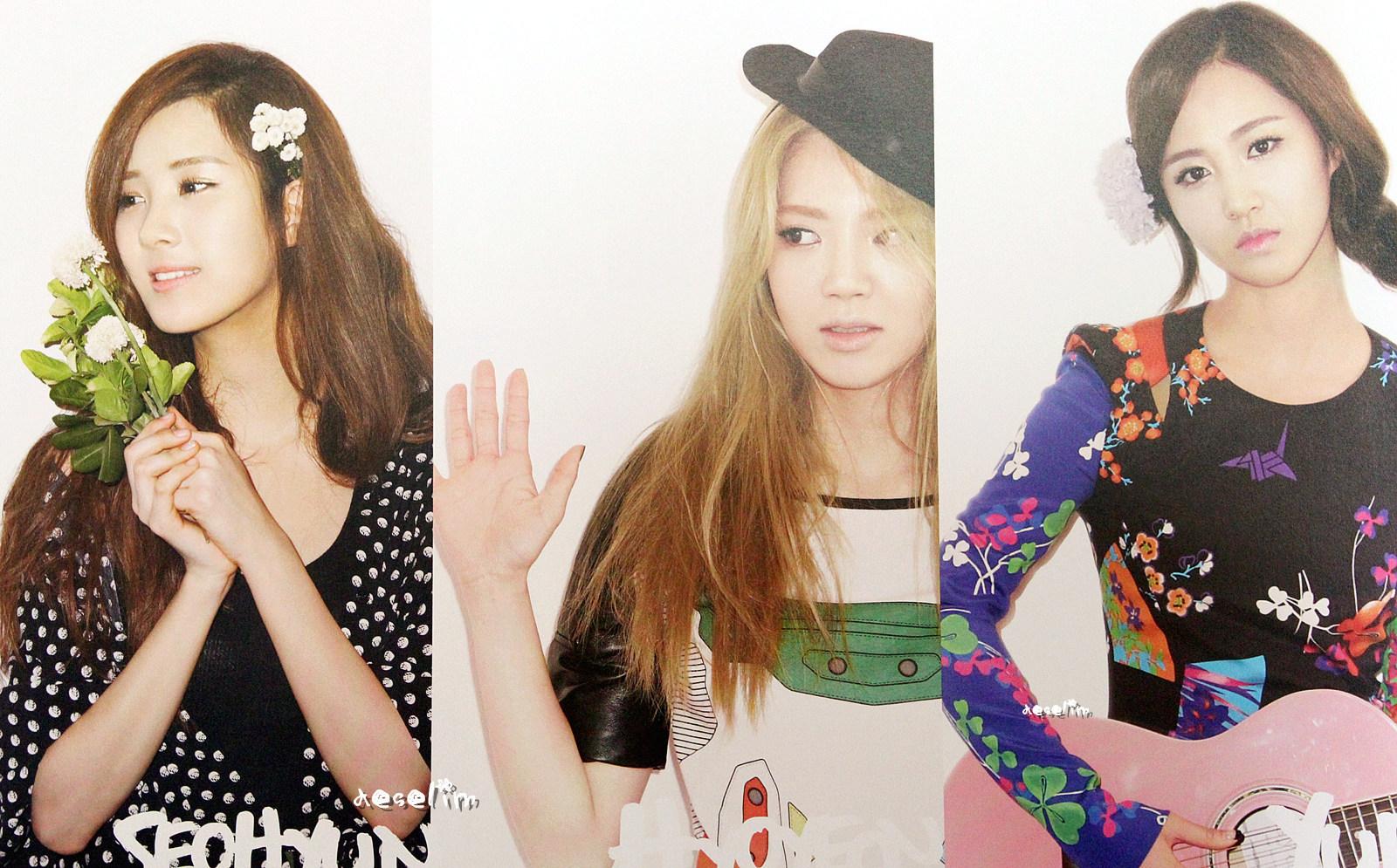Yuri @ Girls' Generation 2012 Calendar Scans HD