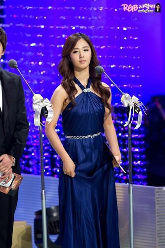 Yuri @ KBS Entertainment Awards