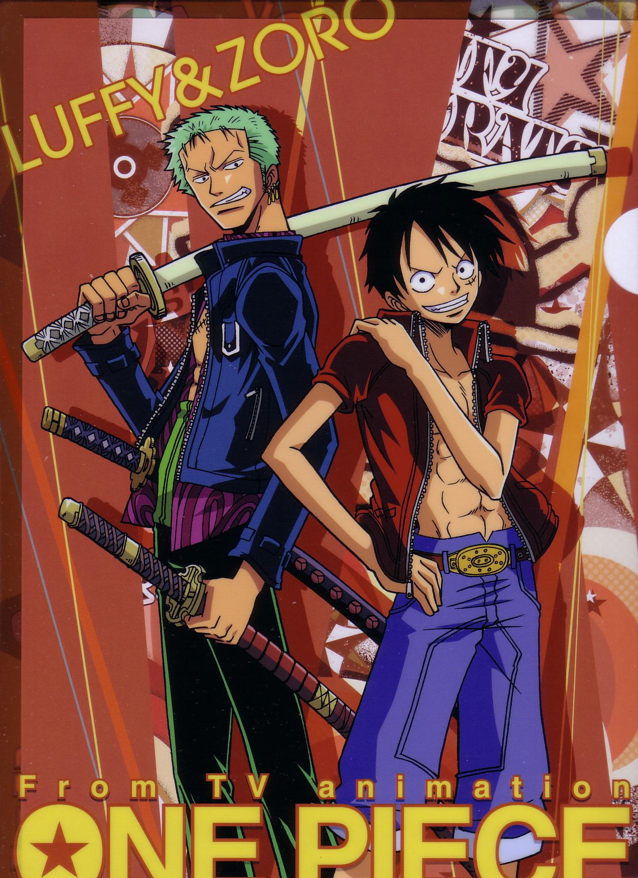 One Piece Images Zoro And Luffy Hd Wallpaper And Background Photos