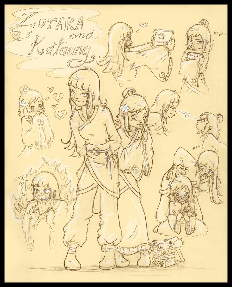 Zutara and Kataang