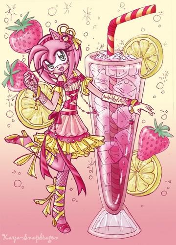 amy rose sparkling erdbeere limonade