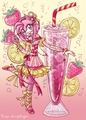 amy rose sparkling strawberry lemonade - amy-rose fan art