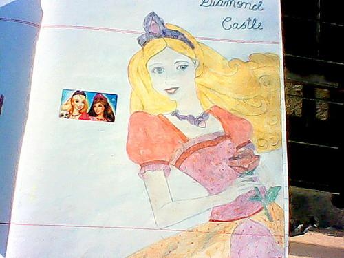 barbie diamond castillo